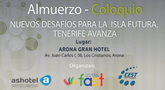 Almuerzo – Coloquio con D. Carlos Alonso Rodríguez