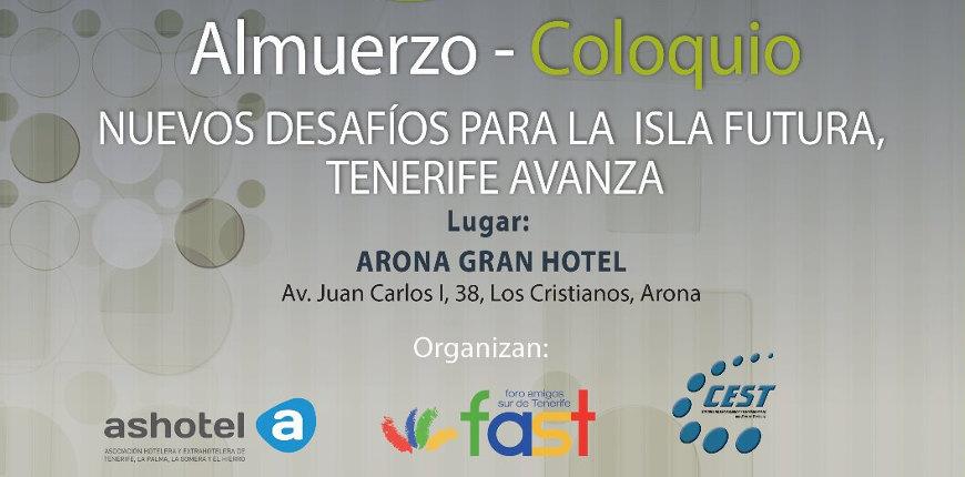 Almuerzo - Coloquio con D. Carlos Alonso Rodríguez