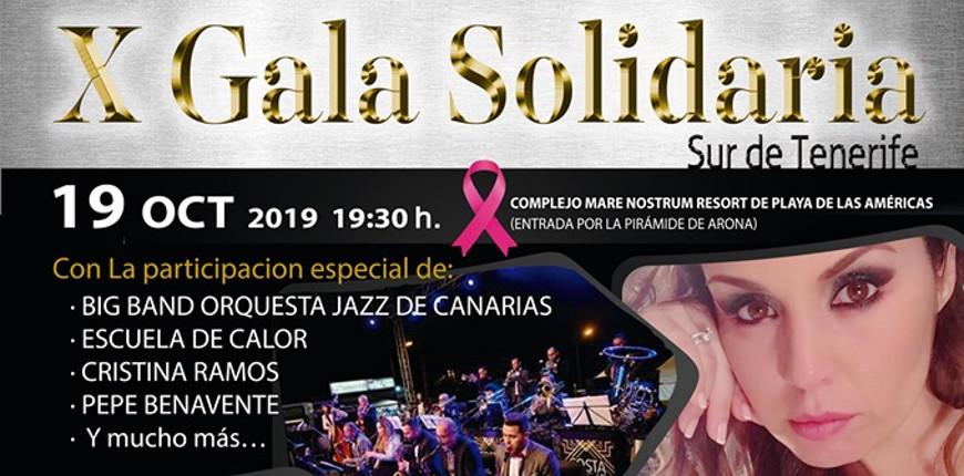 X Gala Fast Tenerife - Lucha contra el cáncer